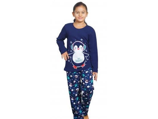 Pijama copii de iarna Be Happy, marimi 3-8 ani