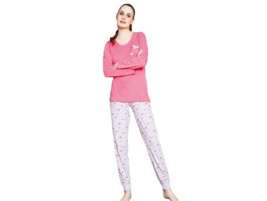 Pijama dame bumbac subtire, marimi S-XL