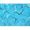 Lenjerie de pat Duo Blue - figuri geometrice,  bumbac de calitate I