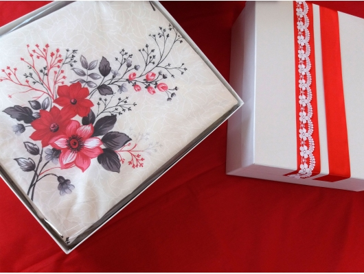 Lenjerie de pat Elegance Duo Ivory, 2 persoane, calitate I, gama Lenjerii CriDesign