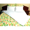 "Lenjerie de pat Funny Flowers Duo-W, King Size, calitate I, gama ""Lenjerii CriDesign"""