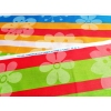 Lenjerie de pat Multicolor Duo Green, King Size, calitate I, gama Lenjerii CriDesign