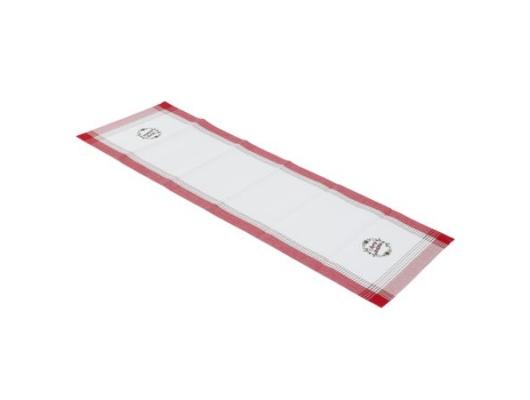 Traversa masa rosie, 50x150 cm, bumbac 100%