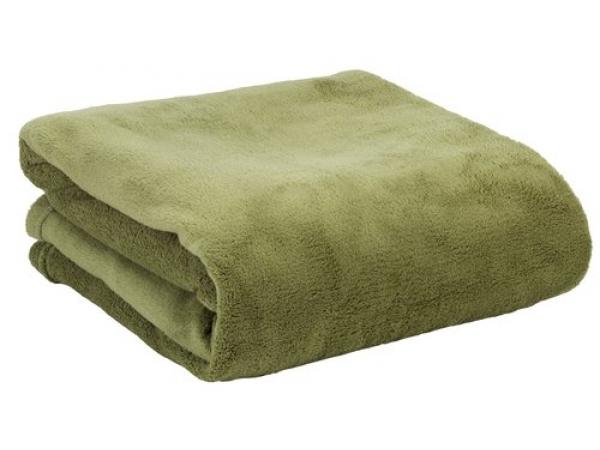 Patura verde kaki 140x200 cm