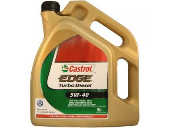 Ulei Castrol EDGE Turbo Diesel 5w40 5L